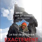 Soirée Lionel Daudet à Paris le jeudi 27 Novembre 2014 : Le tour de la France Exactement !