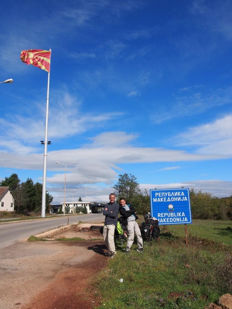 Arrivée en Macédoine