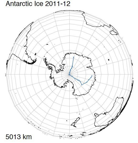 Antactic ICe 2011