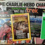 En janvier, je lis la presse d'aventure et Charlie Hebdo !