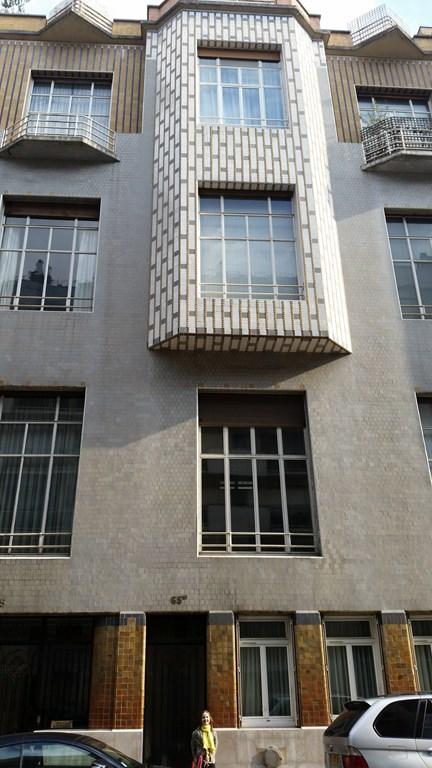 """Immeuble """"studio Building"""" réalisé par Henri Sauvage"""