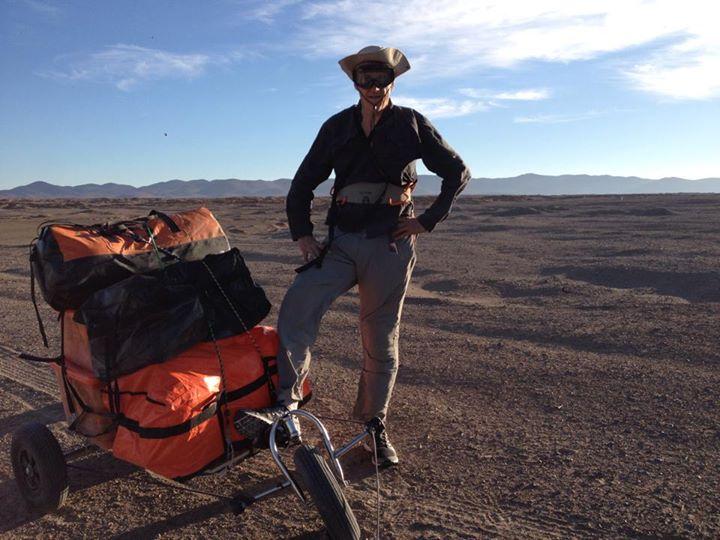 Atacama - Charles Hedrich Départ