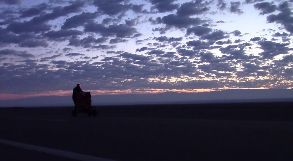 Charles Hedrich, désert d'Atacama de nuit