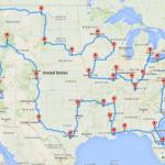 Le Road-trip optimal à travers les Etats-Unis