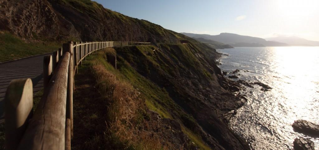The Route on the Gipuzkoa coast