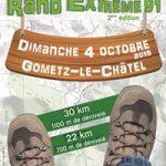 Nouvelle rando de l'extrême en IDF, cette fois dans l'Essonne, le dimanche 4 octobre 2015 !