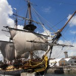 Le jour où je suis monté sur l'Hermione, le célèbre bateau de La Fayette