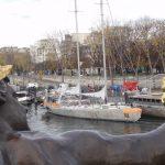 Nos premières photos du bateau d'expédition Tara qui est de retour à Paris