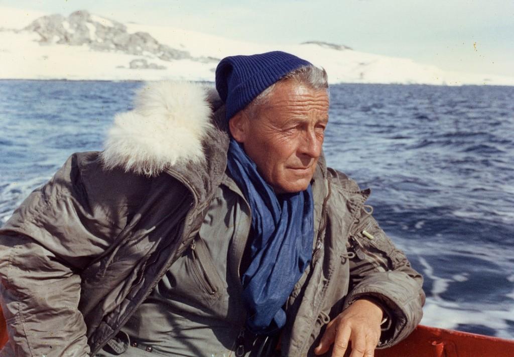 019Antarctique, decembre 1968 - Paul-Émile Victor, portrait - Fonds Paul-Émile Victor [droits geres par Rue des Archives]