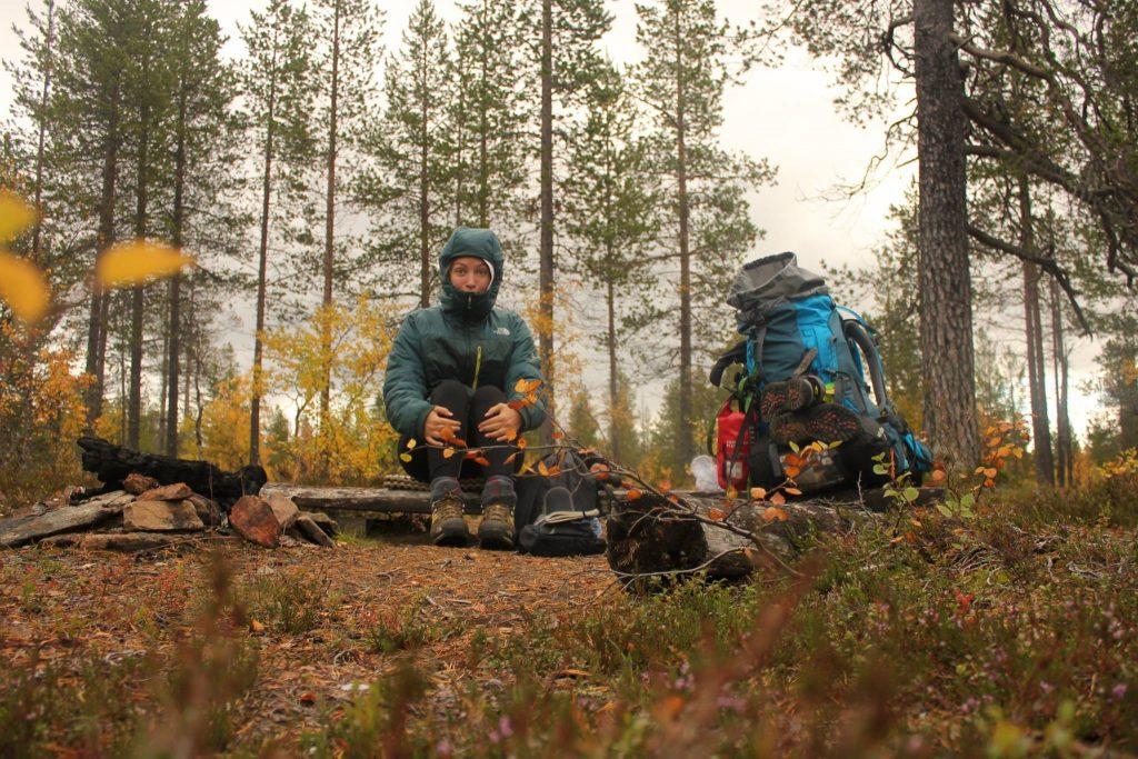 Parc Urho Kekkonen - Jour 3 - Pause déjeuner – Finlande.
