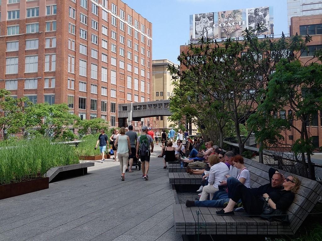 Lieux insolites de New York - High Line Park - 2