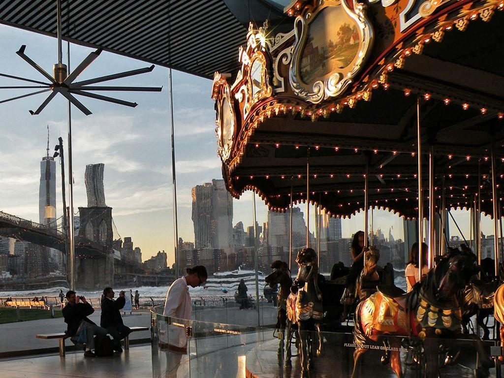 Lieux insolites de New York - Jane's Carousel - 2