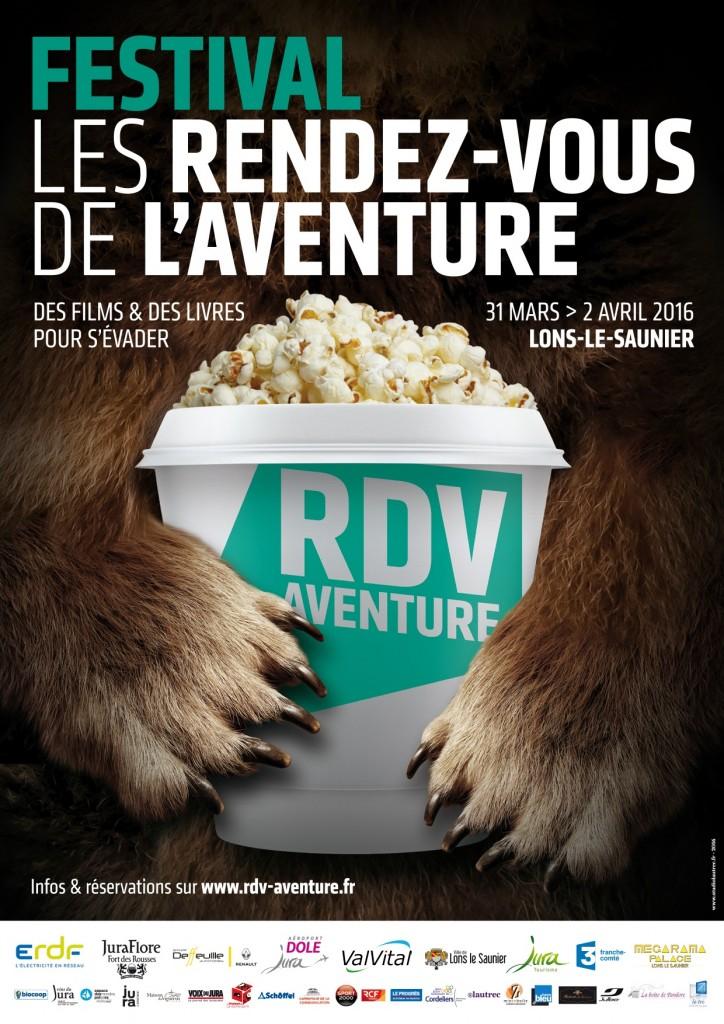 Affiche Les RDV de l'Aventure 2016