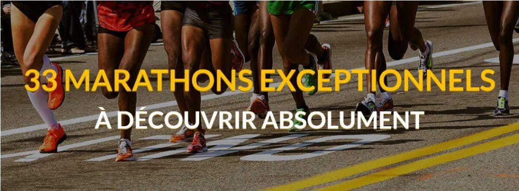 33 marathons exceptionnels