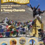 Le festival des Aventuriers de Tonnay-Charente (17) les samedi 8 et dimanche 9 octobre 2016