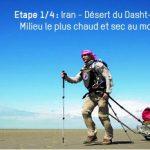 500 Kms à pied à +60°C // Une première mondiale pour la Science