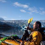 Christian Clot est au cœur des canaux chilien de Patagonie