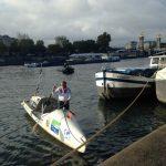 L'aventurier Charles Hedrich vient de terminer le premier tour de France à la rame