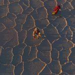 L'aventurier Belge Louis-Philippe Loncke est la première personne à réussir la traversée en autonomie complète du plus grand désert de sel au monde