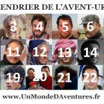 Découvrez le nouveau CALENDRIER DE L'AVENT-URE 2016 avec 24 voyageurs, aventuriers et explorateurs