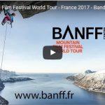 Retour du Banff Mountain Film Festival en France à partir du 27 Février 2017