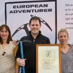 L'aventurier et explorateur Belge Louis-Philippe Loncke élu Aventurier Européen de l'année 2016