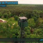 Les Gorges de Franchard vues du ciel par un drone