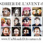 Nouveau CALENDRIER DE L'AVENT-(URE) 2017 pour découvrir 24 voyageurs, aventuriers et explorateurs