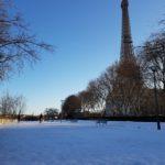 Photos de Paris sous la Neige en Février 2018