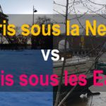 Paris sous la Neige vs. Paris sous les Eaux 2018