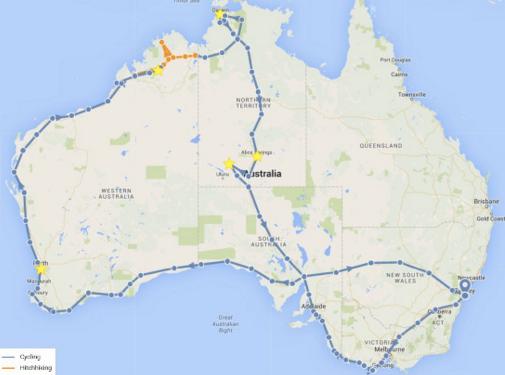 faire une carte de ses voyages TravelMap : votre blog de voyage centré sur une carte interactive