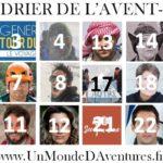 Le Calendrier de l'Avent-(ure) 2018 pour découvrir 25 voyageurs, aventuriers et explorateurs