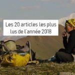 Le bilan 2018 avec les 20 articles du site les plus lus de l'année
