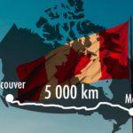 5000 km en solo et dans le froid pour traverser le Canada