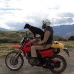 Un français réalise un voyage en moto de plus de 15 000 kilomètres en compagnie de sa chienne