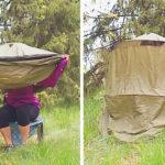 Des toilettes portatives à mettre dans son sac à dos