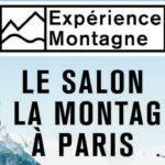 """La Montagne s'installe à Paris avec """"Expérience Montagne"""", le salon de la montagne à Paris du 7 au 10 novembre 2019"""