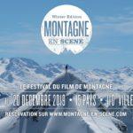 Annonce de la 1ère partie de la programmation de Montagne en Scène du 18 nov au 20 dec 2019