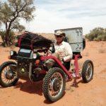 Première traversée 100% solaire réussie pour Charles Hedrich en Australie! 800 km à travers le désert de Simpson.