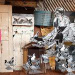 Visite de Fluctuart à Paris, le premier centre d'art urbain flottant au monde