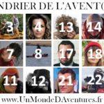 Le Calendrier de l'Avent(ure) 2019 pour découvrir 25 voyageurs, aventuriers et explorateurs