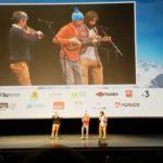 Énorme prestation musicale de nos grimpeurs belges préférés avec Nicolas Favresse lors de la soirée de Montagne En Scène Paris 2019