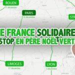 Tour de France solidaire en autostop en père noël vert : le nouveau projet de Capitaine Rémi
